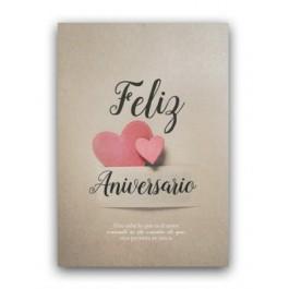 Tarjeta - Feliz aniversario