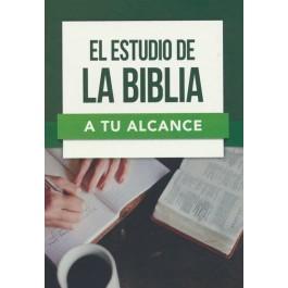 Estudio de la Biblia a tu alcance, El