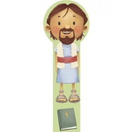 Marcador en 3D para niños Juan el Bautista (bilingüe)