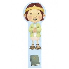 Marcador en 3D para niños Samuel (bilingüe)