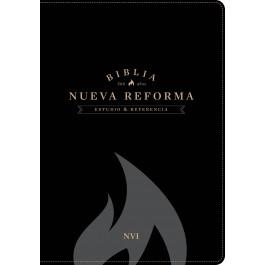 Biblia de estudio Nueva Reforma. 2 tonos. Negro - NVI