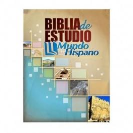 Biblia de Estudio Mundo Hispano - TAPA DURA