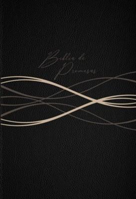 Biblia de promesas. Letra grande. 2 tonos. Negro moderno - RVR60
