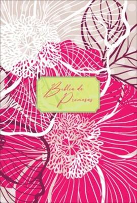 Biblia de promesas. Letra grande. 2 tonos. Floral moderno - RVR60