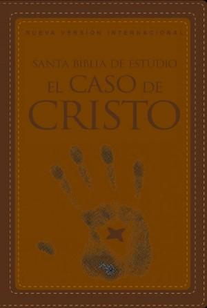 Biblia de estudio el caso de Cristo. 2 tonos. Marrón - NVI