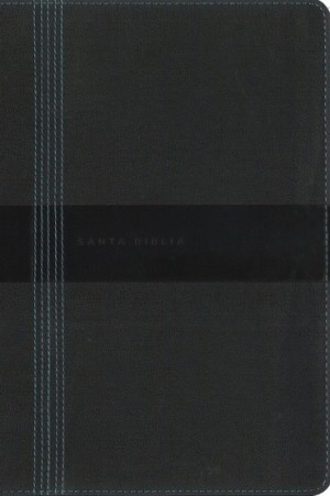 Biblia grande. Letra gigante. Ultrafina. 2 tonos. Negro - NBLA