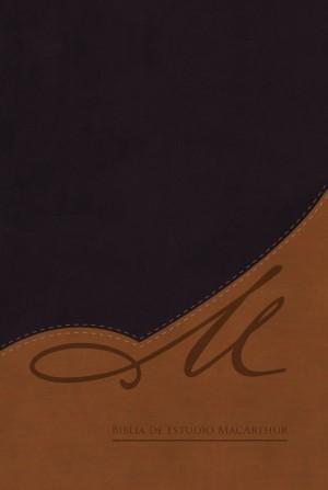 Biblia MacArthur. 2 tonos. Negro/marrón - RVR60