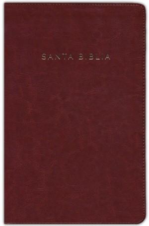 Biblia manual. Letra grande. Imitación piel. Canela. Cremallera - RVR60