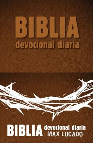 Biblia devocional diaria. 2 tonos. Marrón - RVR60