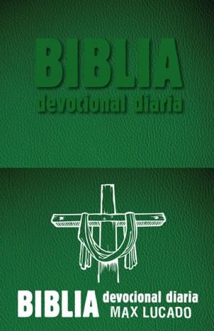 Biblia devocional diaria. 2 tonos. Verde - RVR60