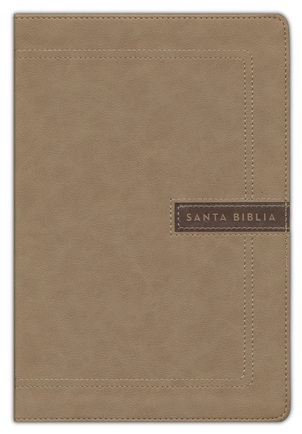 Biblia del ministro. Letra gigante. 2 tonos. Beige - NBLA