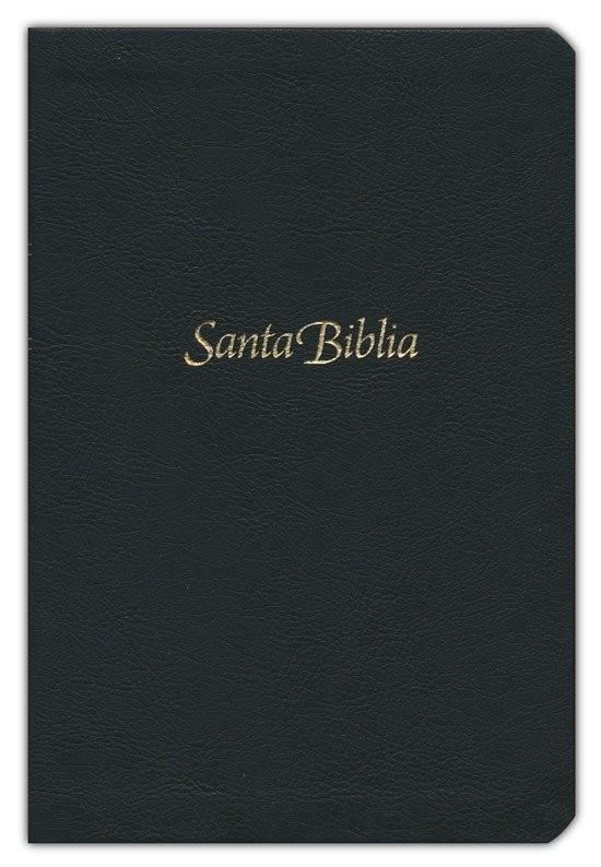 Biblia manual. Letra grande. Imitación piel. Negro - NTV