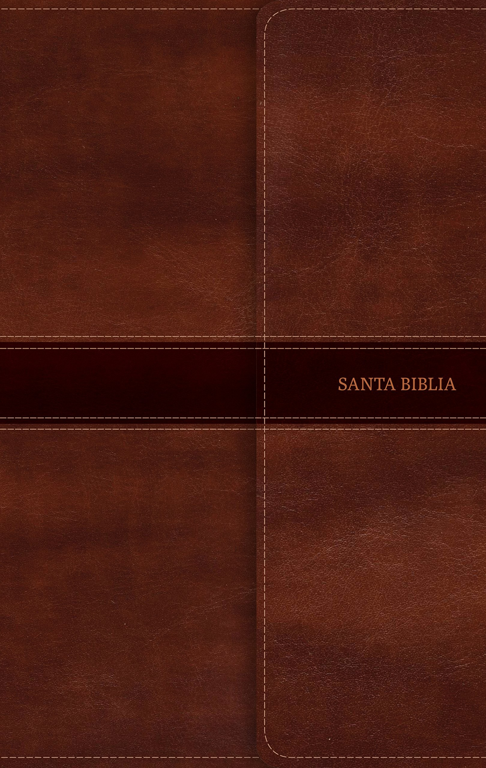 Biblia ultrafina. 2 tonos. Marrón. Solapa magnética - RVR60