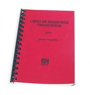 Libro de registro financiero para iglesias pequeñas