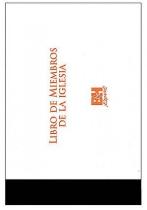 Libro de miembros de iglesia