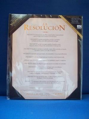 Resolución para hombres, La - Certificado