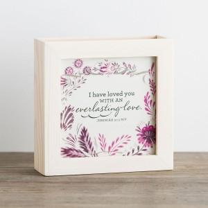 Caja con 52 mensajes Beauty. Madera