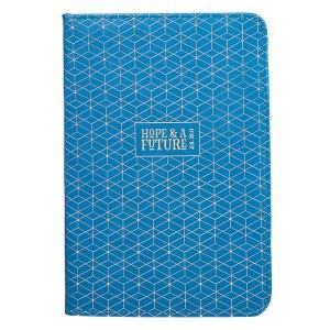 Kit para estudio bíblico Jeremías 29:11. 2 tonos. Azul