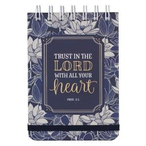 Libreta Proverbios 3:5. Tapa dura. Espiral