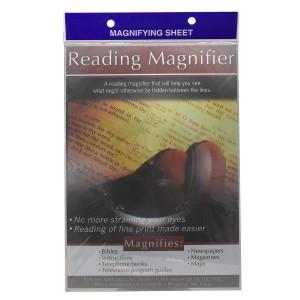 Lupa de lectura rectangular