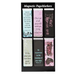 Juego de marcadores magnéticos Grace, Pure and Right (pack de 6)