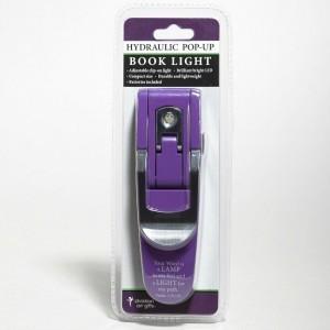 Luz de lectura hidráulica Salmo 119:105. Violeta
