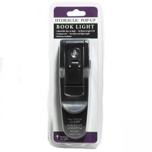 Luz de lectura hidráulica Salmo 119:105. Negro