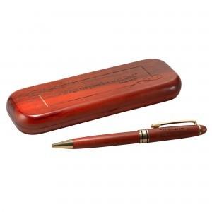 Bolígrafo de madera de palo rosa Marcos 10:27