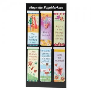 Juego de marcadores magnéticos Whimsical (pack de 6)