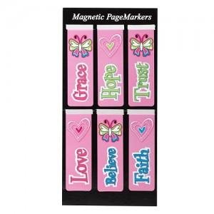 Juego de marcadores magnéticos Little Miss Grace (pack de 6)