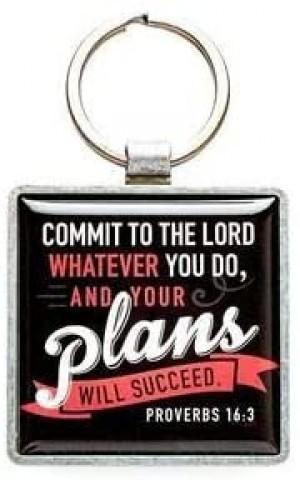 Llavero Proverbios 16:3