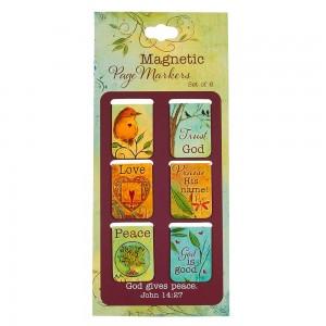 Juego de marcadores magnéticos Juan 14:27 (pack de 6)