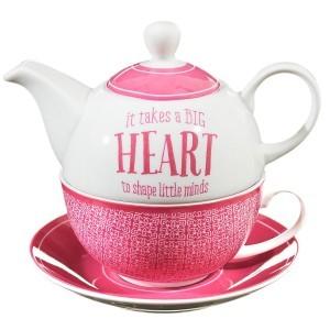 Juego taza y tetera para uno 1 Corintios 16:14
