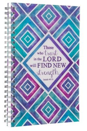 Cuaderno Isaías 40:31. PVC. Anillado