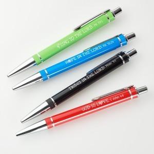 Bolígrafo con versículo. 4 modelos