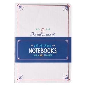 Cuaderno A great teacher. Rústica (pack de 3)