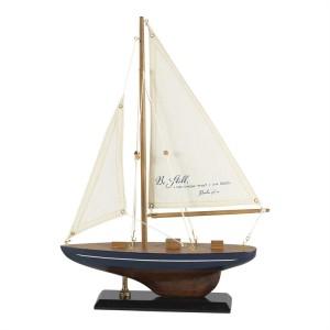 Barco Salmo 46:10. Madera