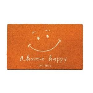 Felpudo Choose happy (Salmo 118:24). Fibra de coco