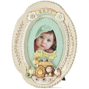 Portafotos For this child I prayed. Resina