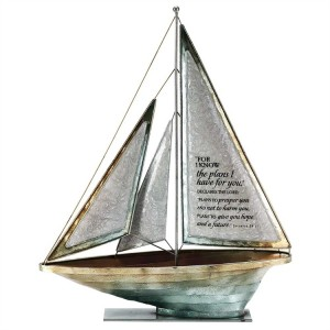 Barco Jeremías 29:11. Metal