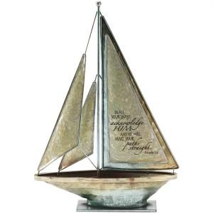 Barco Proverbios 3:6. Metal