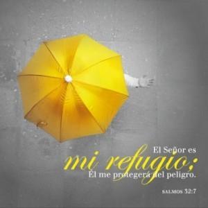 Cuadro cristal Salmo 32:7