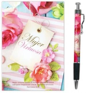 Bolígrafo y libreta Mujer virtuosa