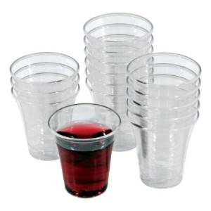 Vasos de plástico (Caja de 1000) - Santa Cena