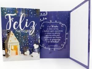 Tarjeta - Feliz Navidad (Juan 1:14)