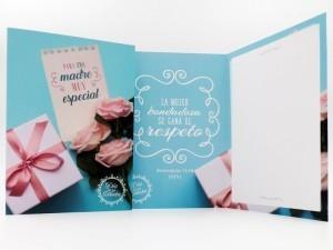 Tarjeta - Para una madre muy especial (Proverbios 11:13)