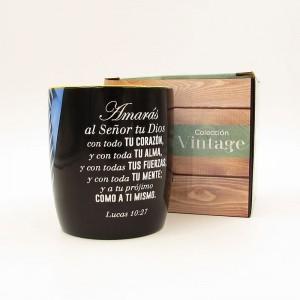 Taza Vintage 3 Lucas 10:27