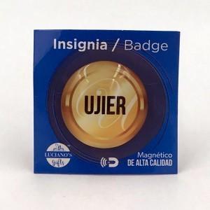 Distintivo magnético Ujier