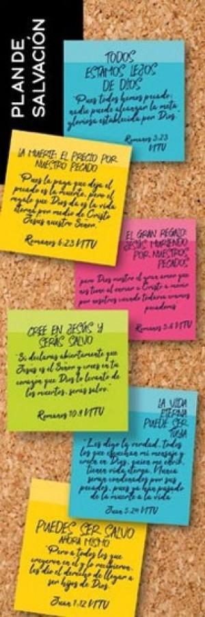 Marcador Plan de Salvación (pack de 25)
