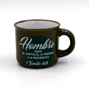 Taza Little present 2 Hombre (1 Timoteo 6:11)